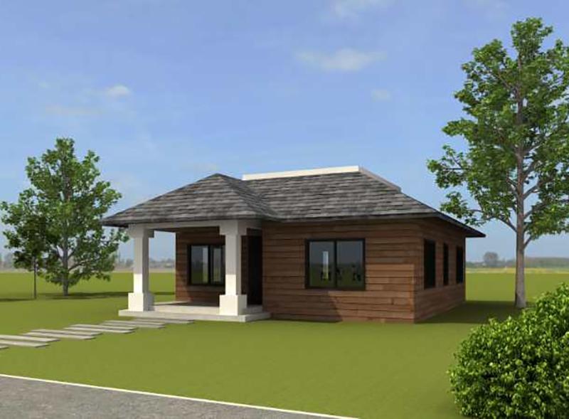 70平米木屋